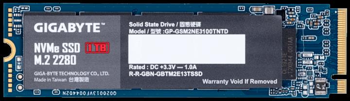 Gigabyte NVMe SSD 1TB M. 2 2280 (GP-GSM2NE3100TNTD) (WY36dnd-235846) - зображення 1