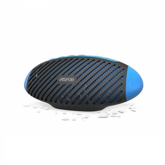 Bluetooth колонка Aspor P5 Plus Blue - зображення 1