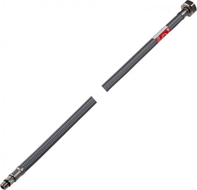 Шланг для змішувача TUCAI H1/2xM10-L17 0.5 м (TAQ GRIF ACB 204280) коротка голка антикорозія - зображення 1