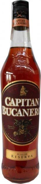 Ром Capitan Bucanero Виехо Резерва 0.7 л 38% (8414771861463) - изображение 1