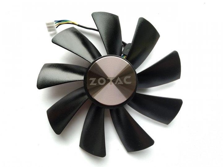Вентилятор Apistek для відеокарти Zotac Mini GAA8S2U (FD10015H12S) (№169.1) - зображення 1