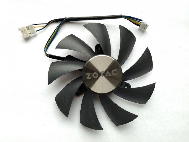 Вентилятор Apistek для відеокарти Zotac Mini GA92S2H (FD9015U12S) (№169.2) - зображення 1