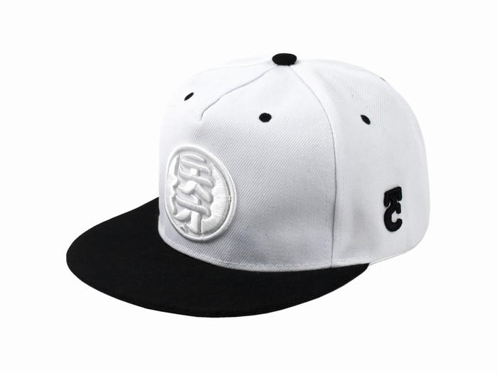 Бейсболка Иероглиф One size Белый+чёрный (22806) - изображение 1