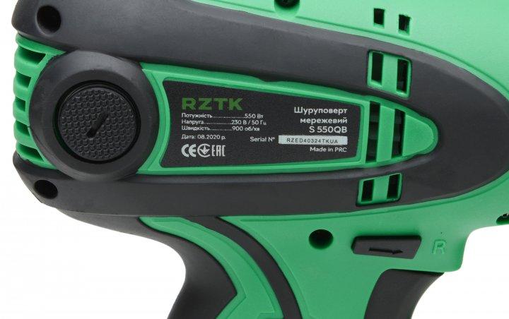 Шуруповерт электрический RZTK S 550QB