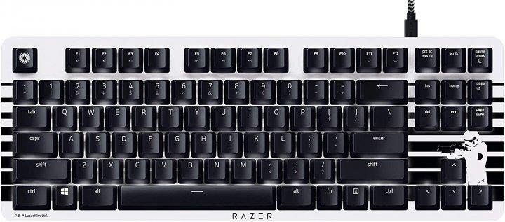Клавіатура дротова Razer BlackWidow Lite Stormtrooper USB Black/White (RZ03-02640800-R3M1) - зображення 1