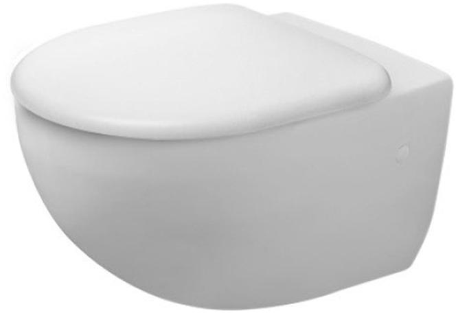 Унітаз DURAVIT Architec Rimless 2572090000 + сидіння Soft Close 0069690000 дюропласт - зображення 1