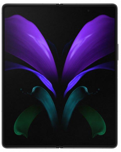 Мобильный телефон Samsung Galaxy Z Fold2 12/256GB Black (SM-F916BZKQSEK) - изображение 1