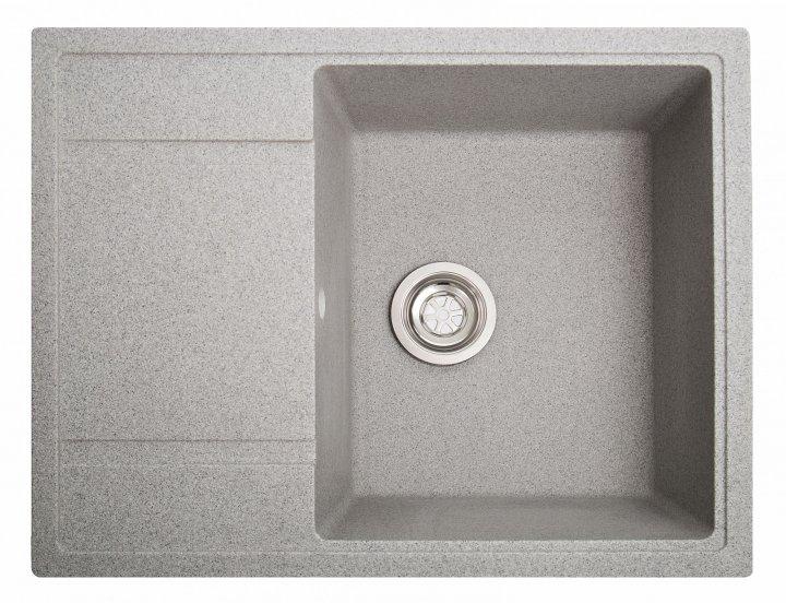 Кухонная мойка Solid Optima серая - изображение 1