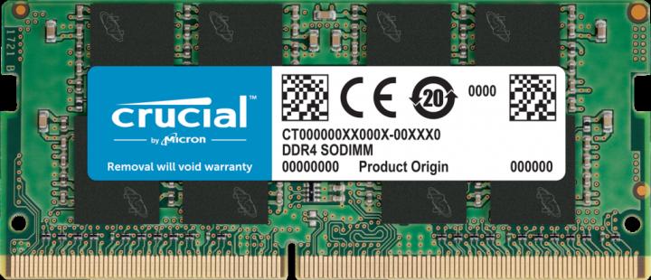Оперативна пам'ять Crucial SODIMM DDR4-2666 16384 MB PC4-21300 (CT16G4SFRA266) - зображення 1