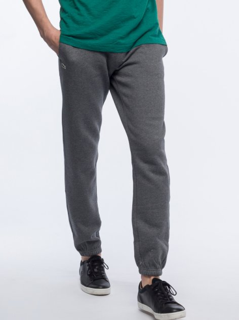 Спортивные штаны Lacoste XH7611-050 XL (T6) Gray (3614035014252) - изображение 1