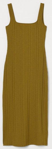 Платье H&M 7798710RP6 S Оливковое (PS2730000001957) - изображение 1