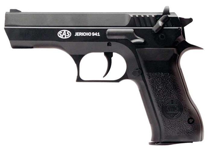 Пістолет пневматичний SAS Jericho 941 метал - зображення 1