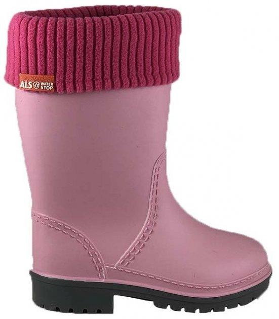 Резиновые сапоги Alisa Line WIN 801 38-39 25.5 см Розовые (2500000060328) - изображение 1