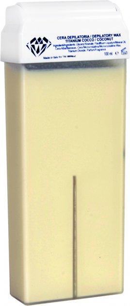 Воск для депиляции BRINail Titanium Coconut в картридже 100 мл (2142393100177) - изображение 1