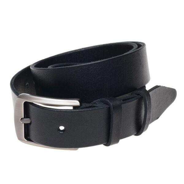 Ремень кожаный Borsa Leather br-125rmkn4-black - изображение 1