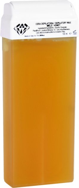Воск для депиляции BRINail Yellow Honey в картридже 100 мл (2142393100078) - изображение 1