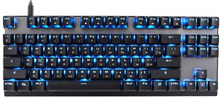Клавиатура беспроводная Motospeed GK82 Outemu Red USB/Wireless Black (mtgk82bmr) - изображение 1