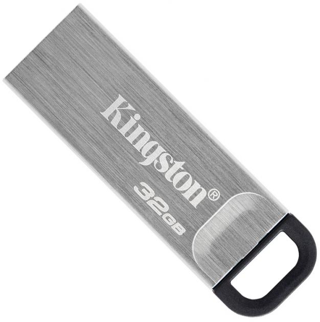 Kingston DataTraveler Kyson 32GB USB 3.2 Silver/Black (DTKN/32GB) - изображение 1