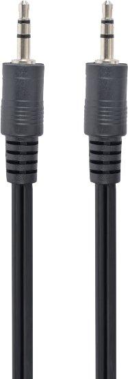 Кабель Cablexpert 3.5 мм - 3.5 мм 2 м Черный (CCA-404-2M) - изображение 1