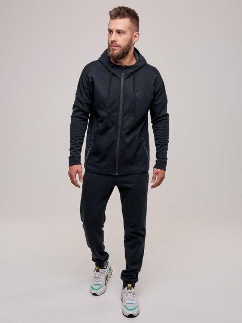 Спортивный костюм Riccardo КМ-AD-2-1 XХL(54) Антрацит (ROZ6400015877) - изображение 1