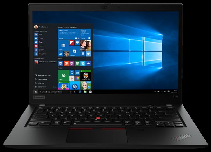 Ноутбук Lenovo ThinkPad T14s Gen 1 (20T00015RT) Black - зображення 1
