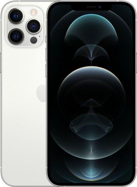 Мобільний телефон Apple iPhone 12 Pro Max 128 GB Silver Офіційна гарантія - зображення 1