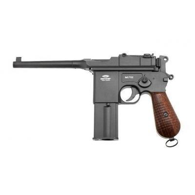 Пневматичний пістолет SAS Mauser M. 712 4,5 мм Blowback (KMB18DHN) - зображення 1