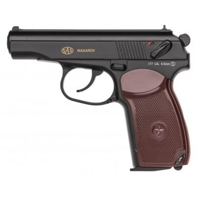 Пневматический пистолет SAS Makarov (KM-44DHN/2370.14.30) - изображение 1