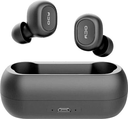 Наушники QCY T1С TWS Bluetooth Black (6957141405772_001006901247) - изображение 1