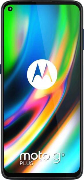 Мобільний телефон Motorola G9 Plus 4/128 GB Blue (PAKM0019RS) - зображення 1