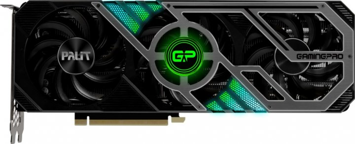 Palit PCI-Ex GeForce RTX 3090 GamingPro 24GB GDDR6X (384bit) (1395/19500) (HDMI, 3 x DisplayPort) (NED3090019SB-132BA) - зображення 1