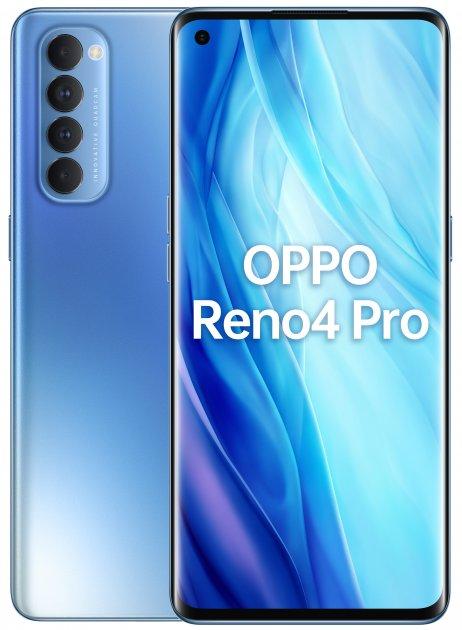 Мобильный телефон OPPO Reno4 Pro 8/256GB Blue - изображение 1