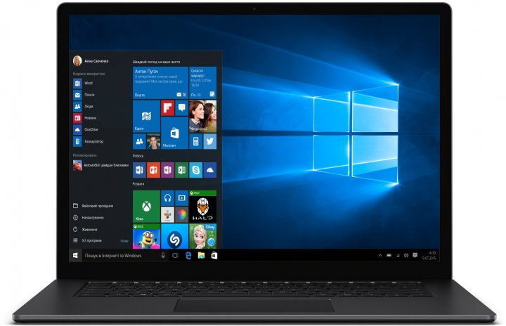 Ноутбук Microsoft Surface Laptop 3 (VFL-00022) Matte Black - зображення 1