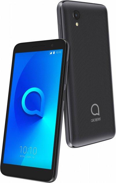 Мобильный телефон Alcatel 1 1/16GB Dual SIM Volcano Black (5033D-2LALUAF) + защитное стекло в подарок! - изображение 9