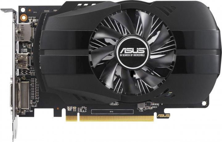 Asus PCI-Ex Radeon 550 Phoenix 2GB GDDR5 (64bit) (1183/6000) (DVI-D, HDMI, DisplayPort) (PH-550-2G) - зображення 1