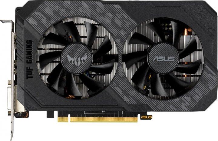 Asus PCI-Ex GeForce GTX 1650 TUF Gaming 4GB GDDR6 (128bit) (1410/12000) (DVI-D, HDMI, DisplayPort) (TUF-GTX1650-4GD6-P-GAMING) - зображення 1