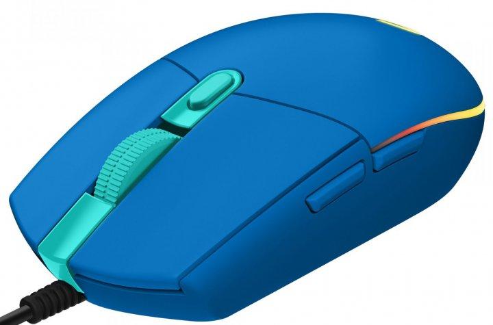 Мышь Logitech G102 Lightsync USB Blue (910-005801) - изображение 1