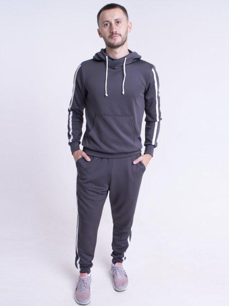 Спортивный костюм Olis-Style Ромен 9992 52 Серый - изображение 1
