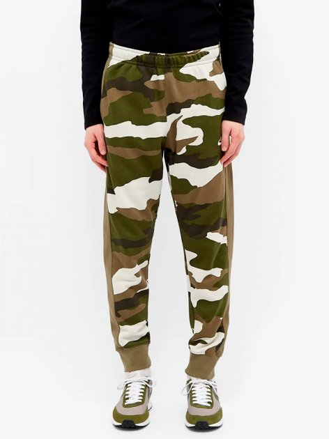 Спортивные штаны Nike M Nsw Club Jggr Ft Camo BV2823-223 S (193658683128) - изображение 1