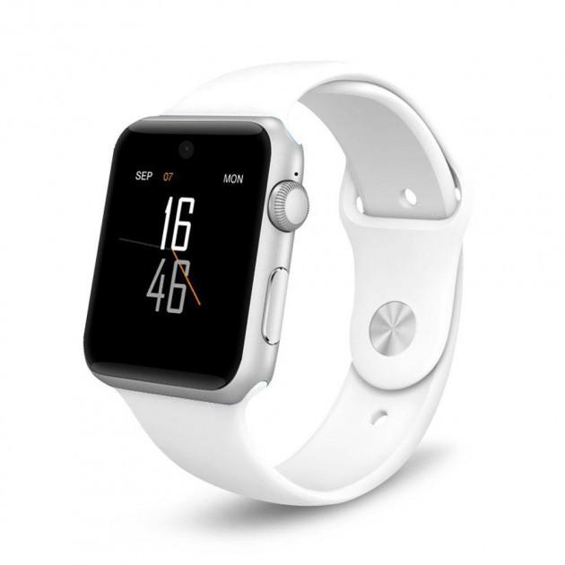 Смарт-годинник Smart Watch X6 Розумні годинник слотом під SIM карту White - зображення 1