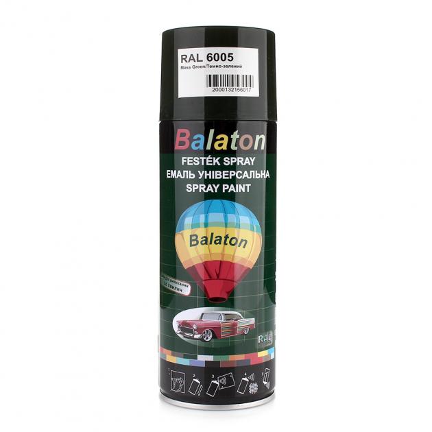 Фарба аерозольна Balaton 6005 400мл Темно зелена - зображення 1