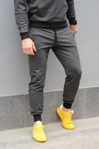 Спортивные штаны мужские WB размер M темно-серые - изображение 1