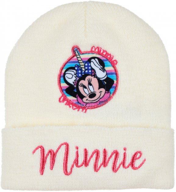 Шапка Disney Minnie TH4025 52 см Белая (3609084631208) - изображение 1