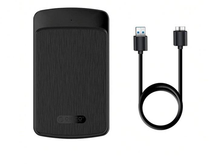 Внешний карман ORICO SATA для HDD USB 3.0 Черный (1007-999-00) - зображення 1