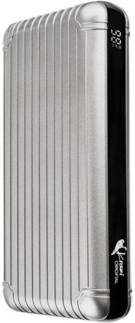 УБМ Krazi Air MaQ Power Bank 20000 mAh 74W Silver (2099900796791) - изображение 1