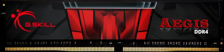 Оперативна пам'ять G.Skill DDR4-2400 4096 MB PC4-19200 Aegis (F4-2400C17S-4GIS) - зображення 1