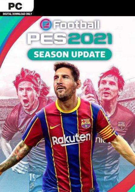 eFootball PES 2021: Season Update. Standard Edition для ПК (PC-KEY, русские субтитры, электронный ключ в конверте) - изображение 1