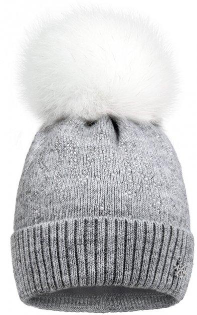 Зимняя шапка David's Star 1920 52 см Серая (ROZ6400021825) - изображение 1