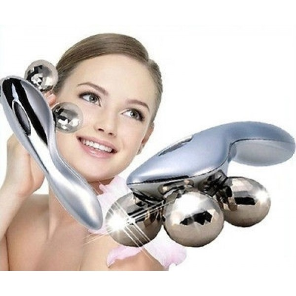 Массажёр лифтинг ручной для лица и тела 4D XC-119 уникальный прибор, подходит для применения не только на лице, но и на всем теле. - изображение 1