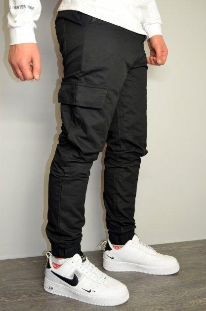 Чоловічі спортивні штани hype drive black розмір XL J-057 - зображення 1